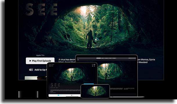 Compatibilidade Apple TV+