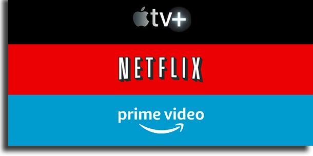 Concorrência Apple TV+