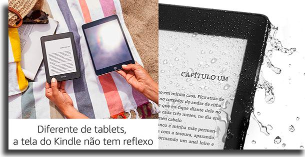 tela Kindle vs Kindle Paperwhite