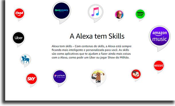 Alexa Habilidades