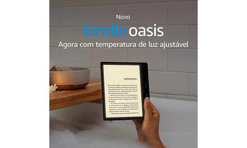 Kindle vs Kindle Oasis: qual deles escolher?