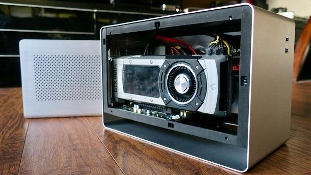 dock do GPU externo