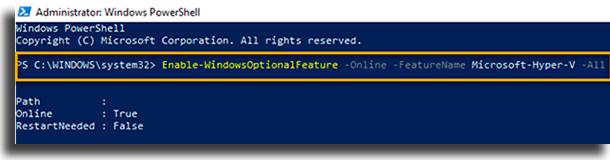 Instalar Docker para Windows Powershell