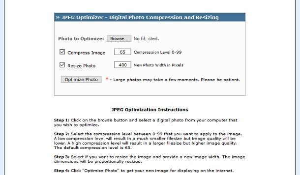 jpeg optimizer app