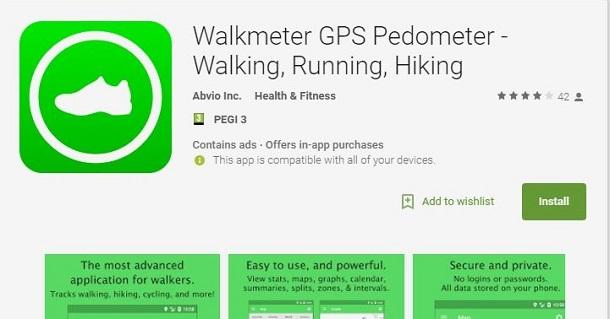 monitorar caminhadas no smartphone