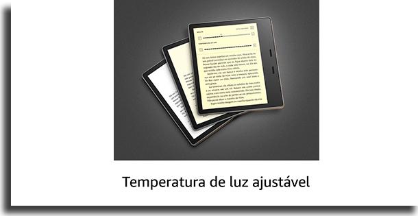Tela Kindle vs Kindle Oasis