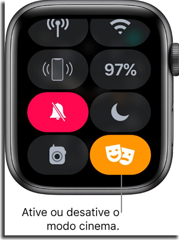 Modo Cinema melhorar bateria do Apple Watch