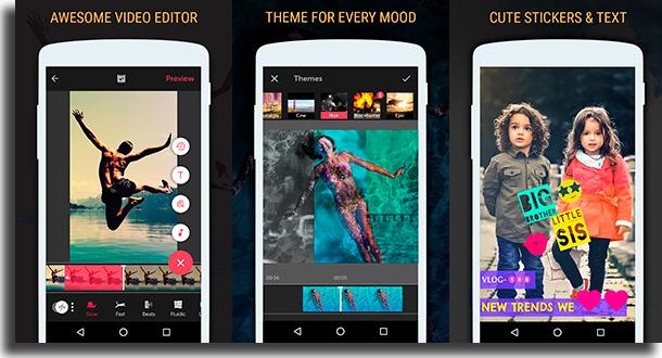 Vizmato melhores aplicativos para o Tiktok