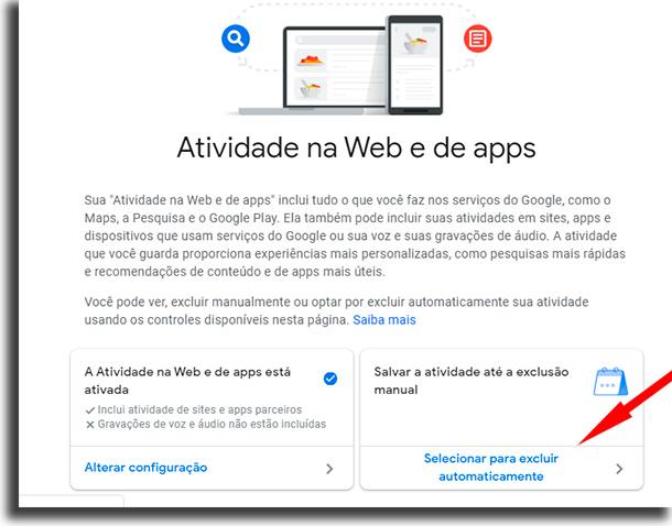 deletar dados evitar ser localizado por apps do google