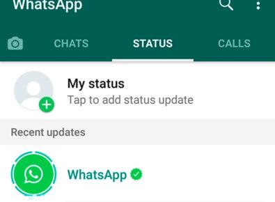 Destaque vídeos para o status do WhatsApp