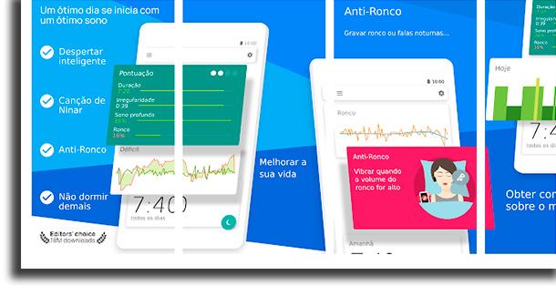 Sleep as Android aplicativos de despertador