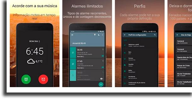 AMdroid aplicativos de despertador
