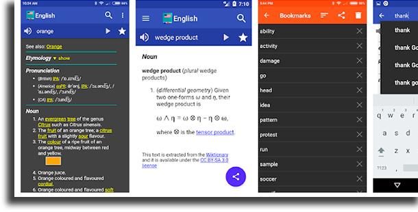 Dicionário de Inglês - Offline aplicativos de dicionário