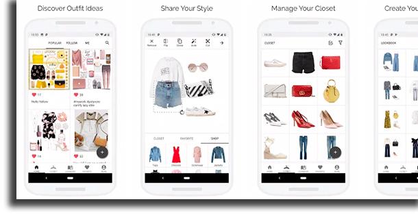 Smart Closet aplicativos de moda e beleza