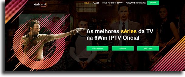 6Win melhores opções de IPTV