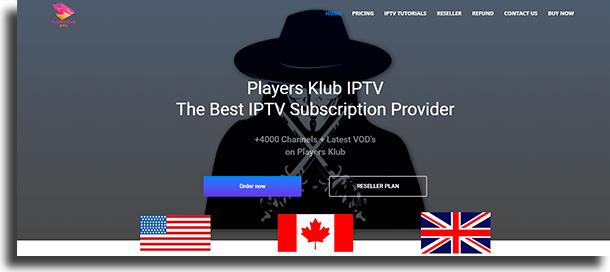 The Players Klub melhores opções de IPTV