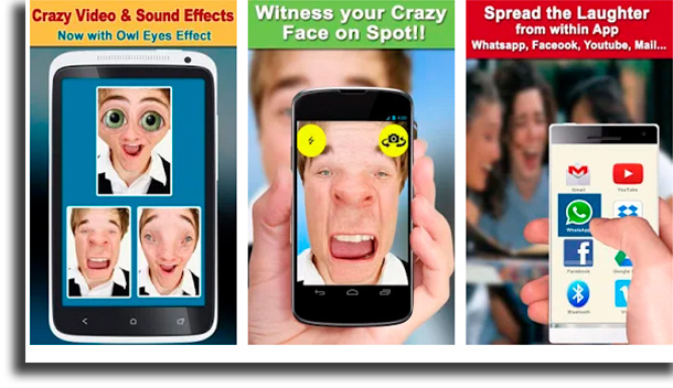Crazy Helium Snap Video Booth apps para mudar a voz