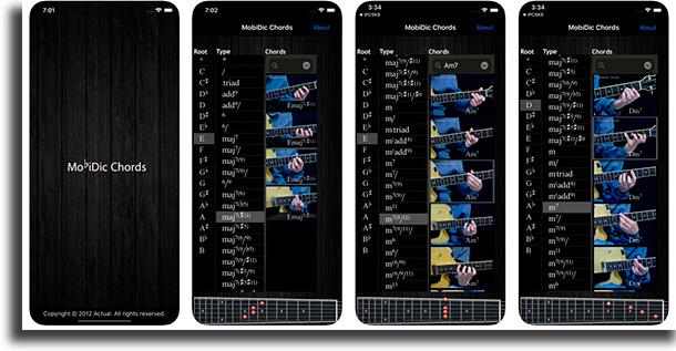 MobiDic aplicativos para ter cifras das suas músicas