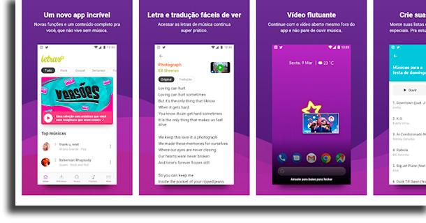 letras.mus.br aplicativos para identificar músicas