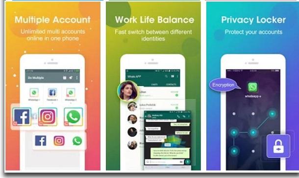 DO Multiple Accounts whatsapp