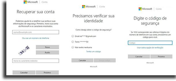 Windows 8 e WIndows 10 descobrir senha do Windows
