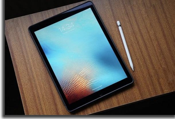 apple pencil no ipad
