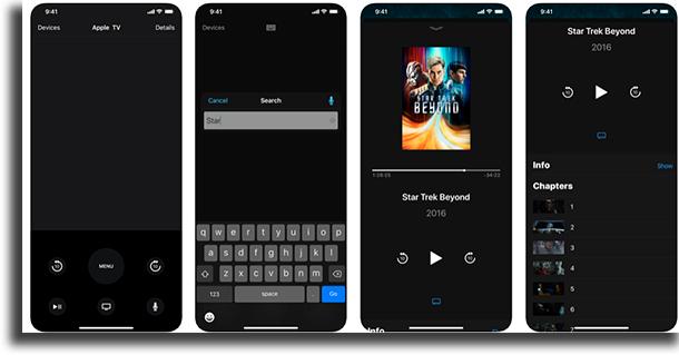 Apple TV Remote transformar um iPhone num controle remoto