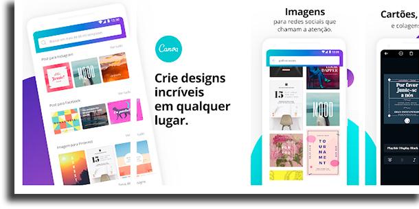Canva aplicativos para fazer colagens de fotos