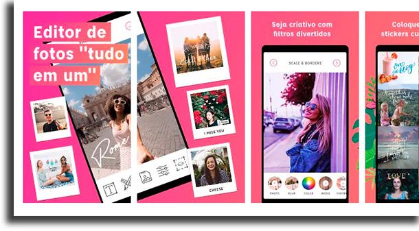PicLab aplicativos para escrever em fotos