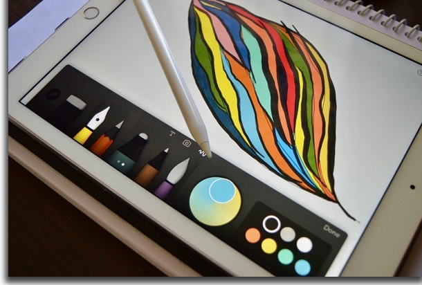 evitar o apple pencil no ipad