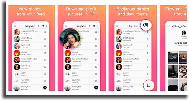 story saver apps para baixar vídeos e stories