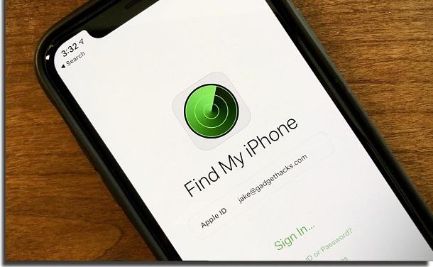 ter o iphone roubado buscar