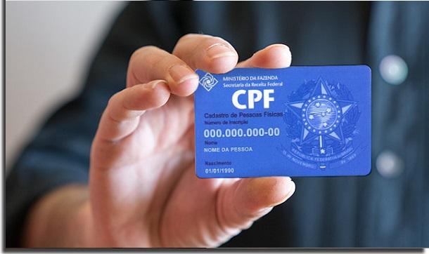 proteger o CPF de golpes