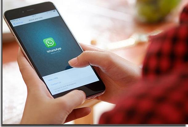 proteger o CPF whatsapp