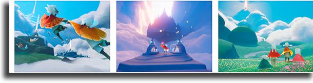 Sky: Children of the Light melhores aplicativos e jogos do ano