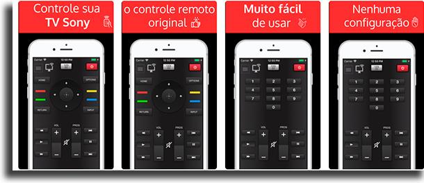 Sonymoto transformar um iPhone num controle remoto