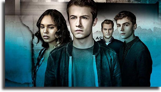 13 Reasons Why series teen de Netflix