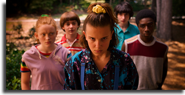 Stranger Things seriados mais vistos em 2019