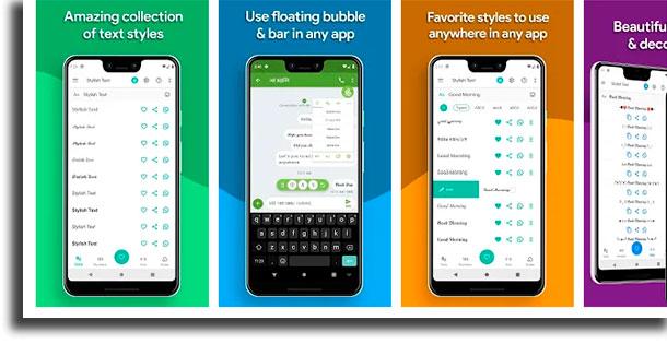 Stylish Text trocar a fonte do WhatsApp