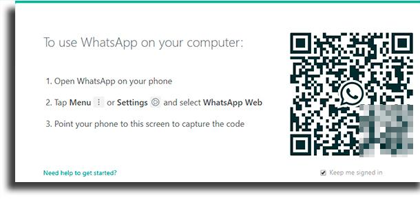 Usar WhatsApp Web