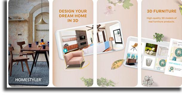 Homestyler aplicativos de arquitetura