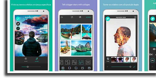 Pixlr aplicativos para diminuir fotos