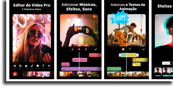 InShot aplicativos para acelerar e desacelerar vídeos