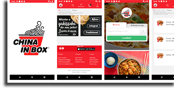 China in Box iFood fora do ar