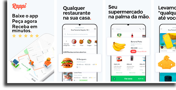 Rappi iFood fora do ar
