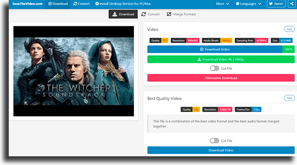 savethevideo Como baixar músicas e vídeos do YouTube para Android