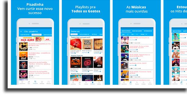 Sua Música aplicativos para baixar música grátis