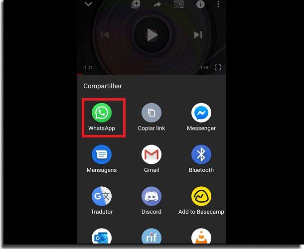 Como colocar vídeos do YouTube no Status do WhatsApp compartilhar