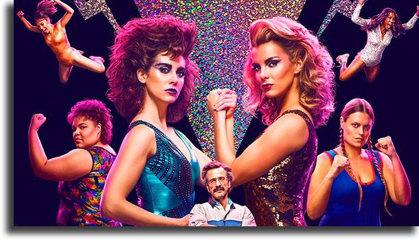 GLOW séries mais populares na Netflix