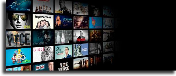 Catálogo HBO Go vs Amazon Prime